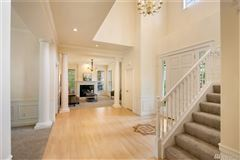 Mansions in timeless colonial in Highland Creek Estates
