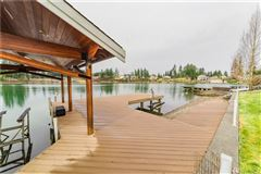 Luxury homes  iconic Lake Tapps waterfront home