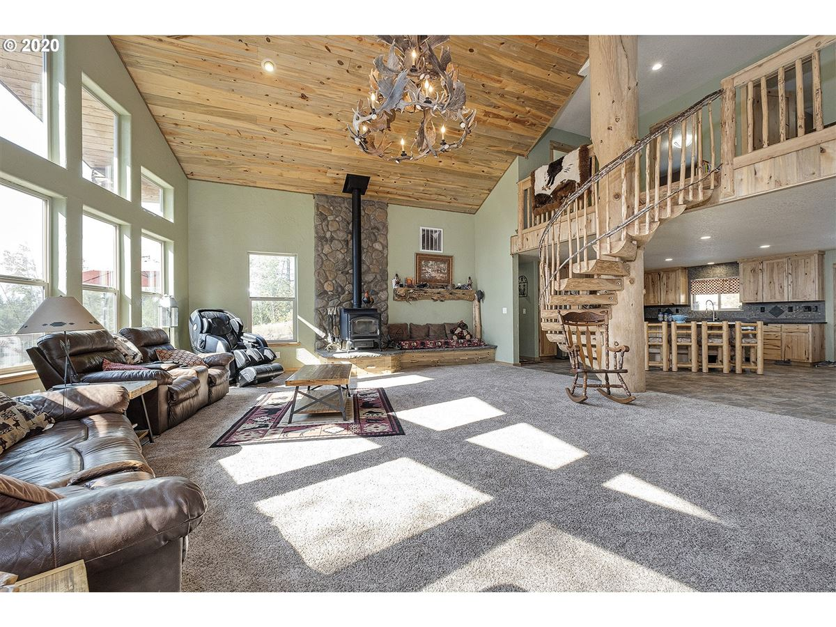 Gorgeous one of a kind custom built home on over 20 acres luxury homes