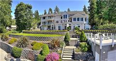 Mansions Custom 12,500SF Hood Canal Estate