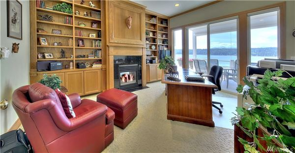 Luxury homes Custom 12,500SF Hood Canal Estate