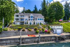 Mansions in Custom 12,500SF Hood Canal Estate