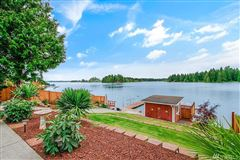 Mansions charming Lake Tapps waterfront home