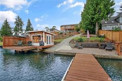 Mansions in charming Lake Tapps waterfront home