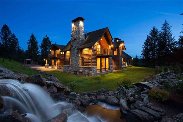 North Idaho View Estate Ranch Idaho Luxury Homes