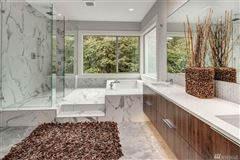 Luxury homes in new construction view rambler