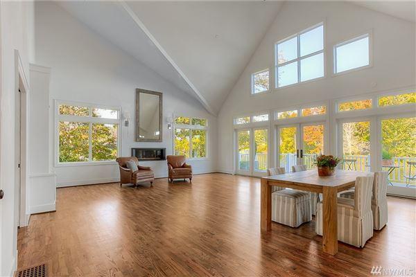 Custom built home on Lake Steilacoom luxury homes