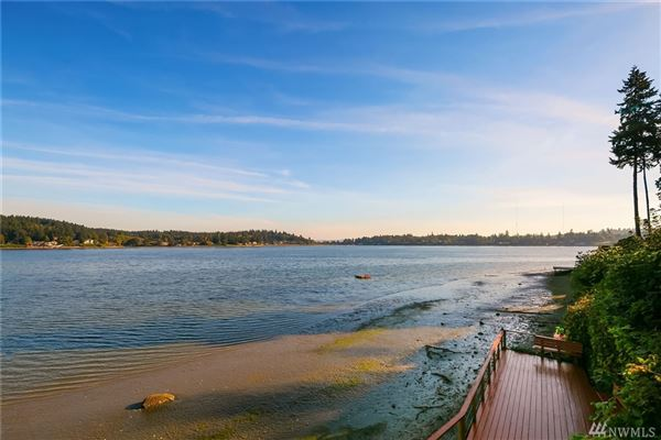classy waterfront home boasts lovely views luxury real estate
