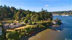 Luxury real estate classy waterfront home boasts lovely views