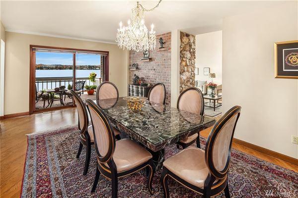 Luxury properties expansive views on lake washington