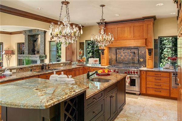 Luxury properties Magnificent Mediterranean Estate in kirkland