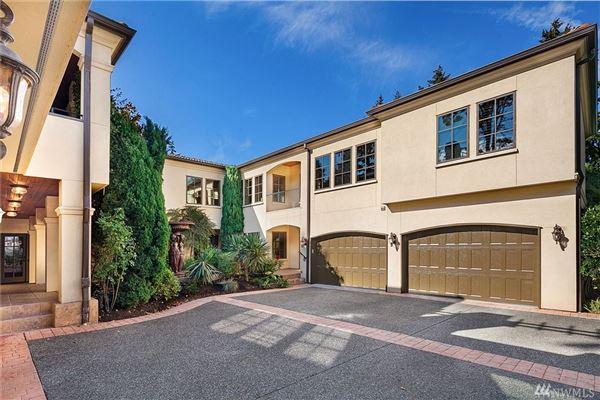 Magnificent Mediterranean Estate in kirkland luxury real estate