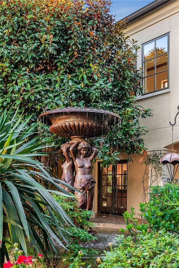 Magnificent Mediterranean Estate in kirkland luxury properties