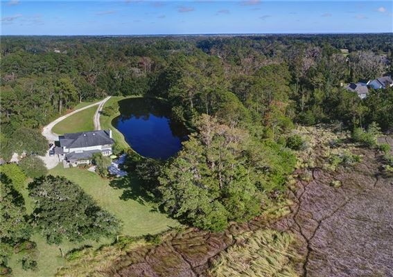 This home is situated on five acres  luxury homes
