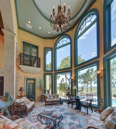 home on northern part of Sea Island  luxury properties