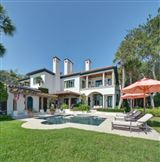 magnificent and uniquely sited on sea island mansions