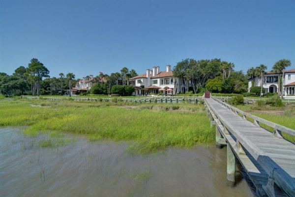 magnificent and uniquely sited on sea island luxury real estate
