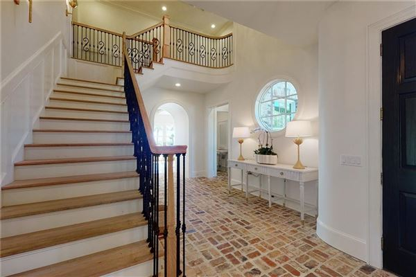 perfectly imagined new home steps from the beach mansions