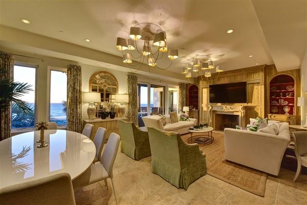 end unit penthouse with sweeping views of Atlantic mansions