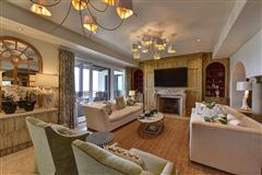 Luxury real estate end unit penthouse with sweeping views of Atlantic