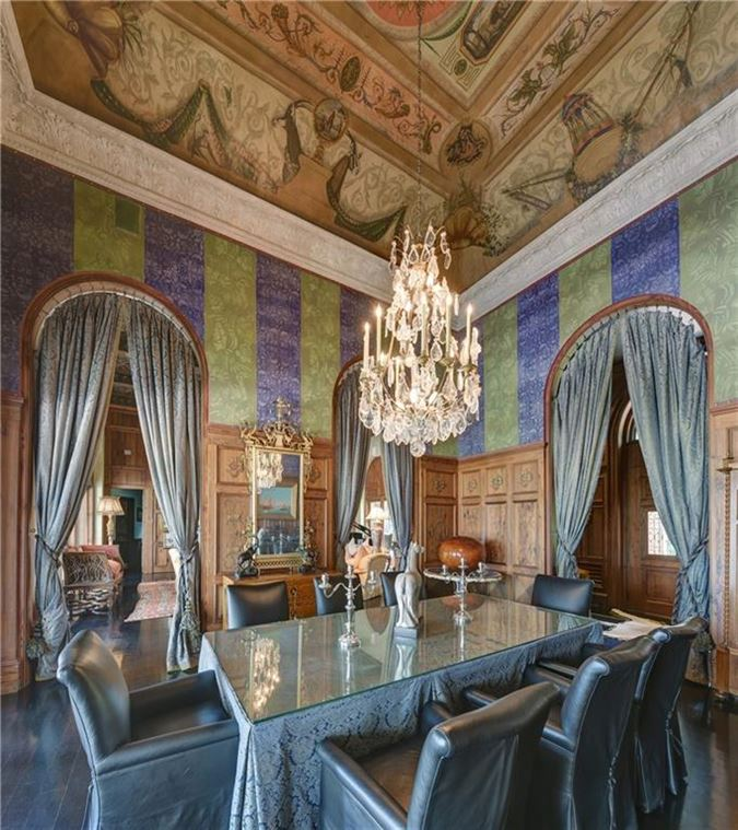 a true testament to Old World luxury mansions