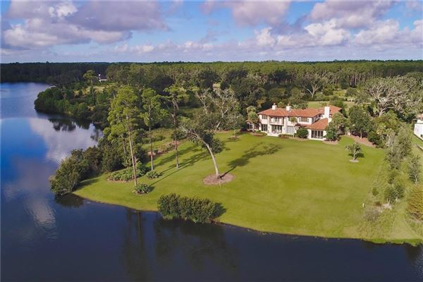 a truly exceptional lake front property luxury real estate
