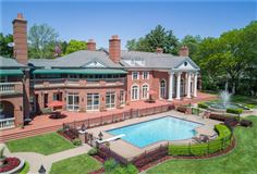 grand Bloomfield Hills estate luxury real estate