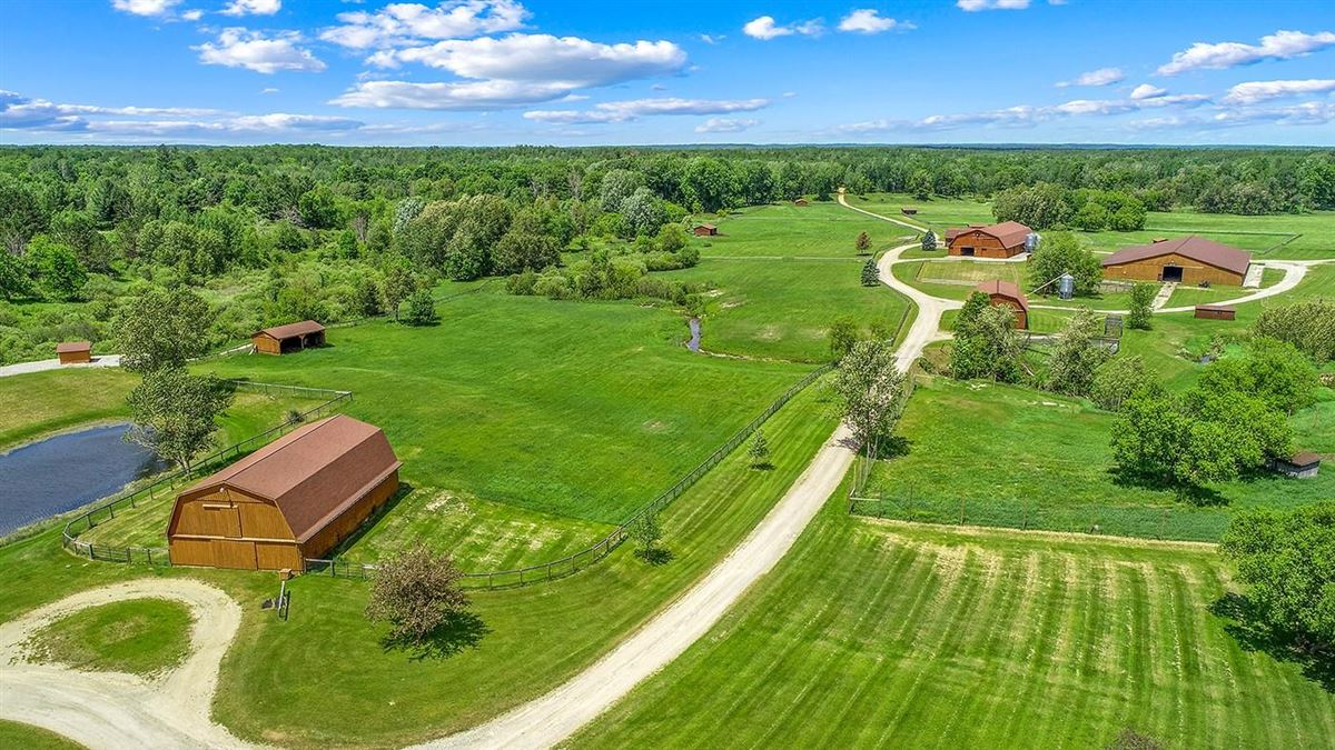 One of Michigan's most breathtaking 900 acre properties mansions