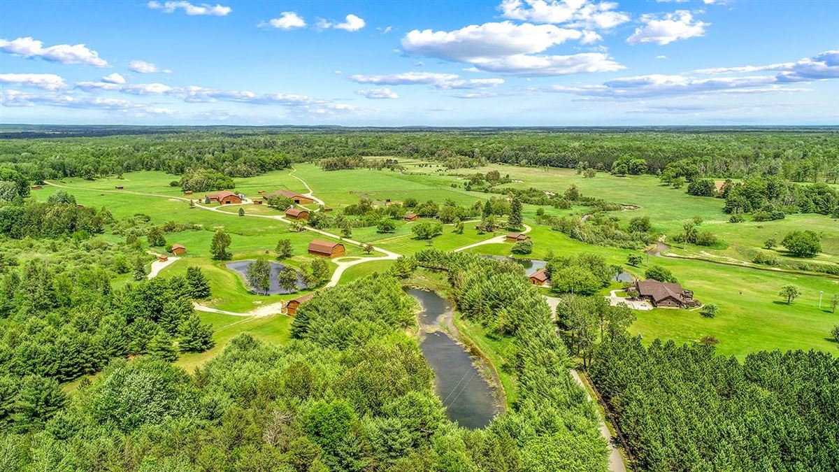 One of Michigan's most breathtaking 900 acre properties luxury homes