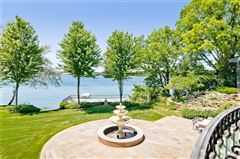 Mansions Spectacular gated estate on shores of pine lake