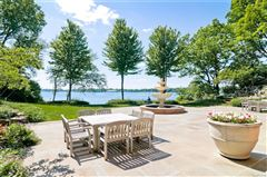 Luxury homes Spectacular gated estate on shores of pine lake