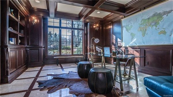 Luxury real estate Stunning French Chateau Estate In Rochester