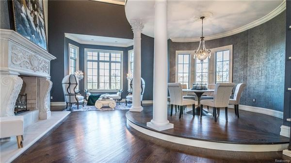 Stunning French Chateau Estate In Rochester luxury real estate