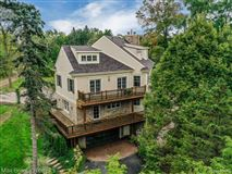 stunning contemporary colonial overlooking the rouge river luxury homes