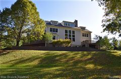 Luxury properties stunning contemporary colonial overlooking the rouge river