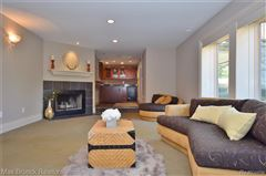 Mansions stunning contemporary colonial overlooking the rouge river