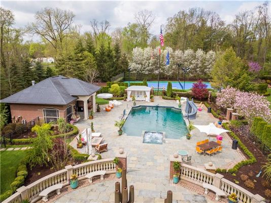 Three-acre Franklin property offering unparalleled amenities mansions