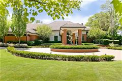 Luxury properties Spectacular gated estate on shores of pine lake
