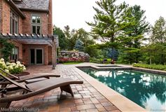 Mansions stunning property includes a pool and gym