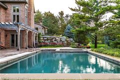 stunning property includes a pool and gym mansions