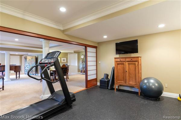 stunning property includes a pool and gym luxury properties