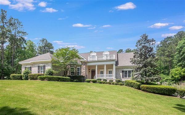 Luxury homes Gorgeous home on almost three acres in Kiokee Ridge