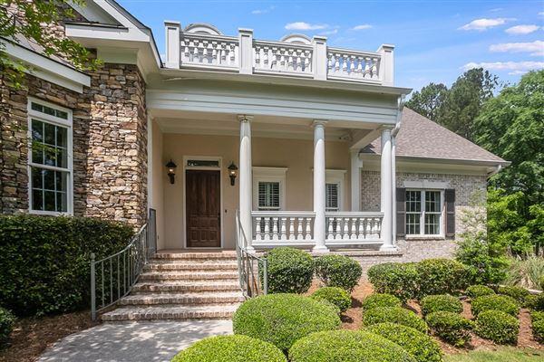 Gorgeous home on almost three acres in Kiokee Ridge luxury real estate