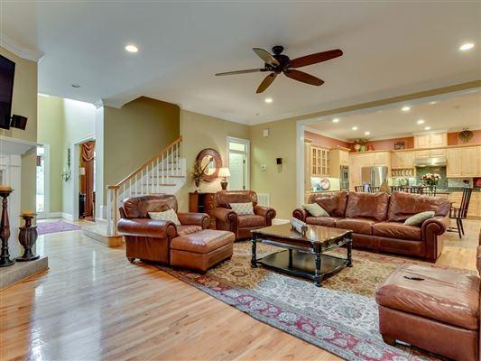 Luxury real estate a grand home on a corner lot in prestigious Barrington Subdivision