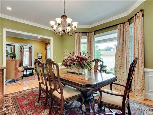 Mansions in a grand home on a corner lot in prestigious Barrington Subdivision