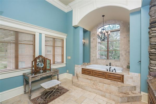 Mansions Immaculate, Mediterranean style home