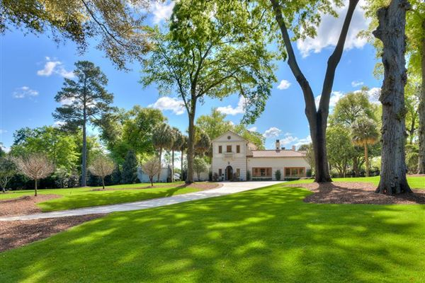 Luxury properties  Newly renovated Mediterranean Masterpiece on Milledge Road!