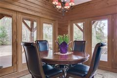 51-plus acre horse farm with custom post-n-beam home luxury real estate