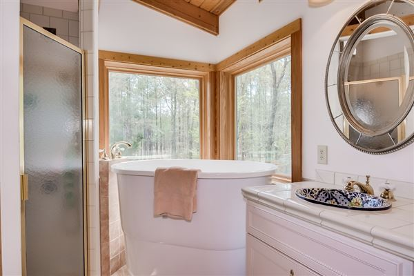 Luxury homes in 51-plus acre horse farm with custom post-n-beam home
