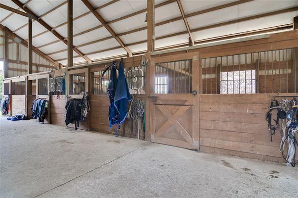 51-plus acre horse farm with custom post-n-beam home luxury properties